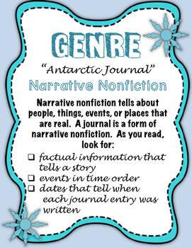 "Journeys Fourth Grade:  ""Antarctic Journal"""
