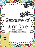 Fourth Grade: Because of Winn-Dixie (Journeys Supplement)