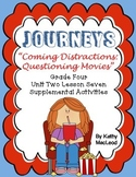 """Journeys Fourth Grade:  """"Coming Distractions:  Questioning"""