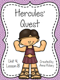 Fourth Grade: Hercules' Quest (Journeys Supplement)