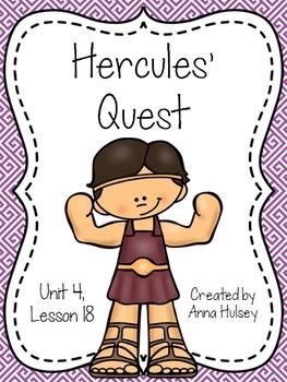 Fourth Grade: Hercules' Quest (Journeys Supplement)