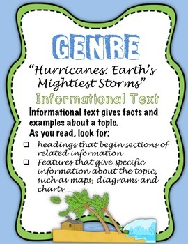 "Journeys Fourth Grade:  ""Hurricanes:  Earth's Mightiest Storms"""