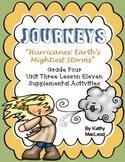 """Journeys Fourth Grade:  """"Hurricanes:  Earth's Mightiest Storms"""""""