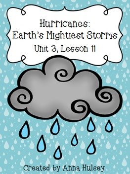 Fourth Grade: Hurricanes- Earth's Mightiest Storms (Journeys Supplement)