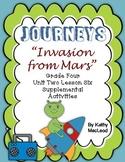 "Journeys Fourth Grade:  ""Invasion from Mars"""