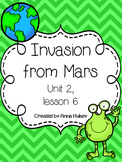Fourth Grade: Invasion from Mars (Journeys Supplement)