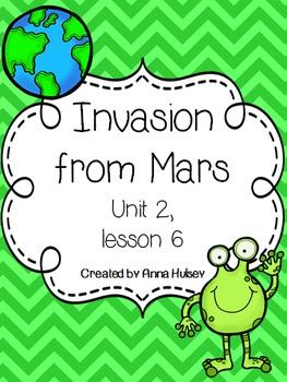 Fourth Grade: Invasion from Mars (Journeys Supplement)
