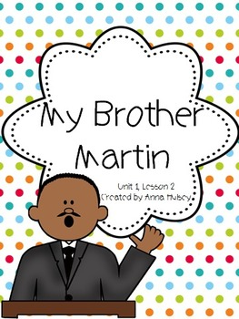 My brother martin online book
