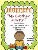 """Journey's Fourth Grade:  """"My Brother Martin"""""""