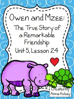 Fourth Grade: Owen and Mzee (Journeys Supplement)