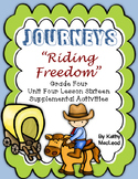 "Journeys Fourth Grade:  ""Riding Freedom"""