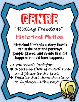 "Journeys Fourth Grade:  ""Riding Freedom"""