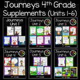 Journeys Fourth Grade Supplemental Materials (Units 1-6)