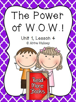 Fourth Grade: The Power of W.O.W.! (Journeys Supplement)