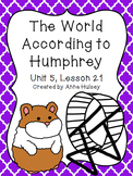 Fourth Grade: The World According to Humphrey (Journeys Supplement)