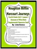 Journeys Fourth Grade Unit 1 Lesson 1 - Because of Winn-Di