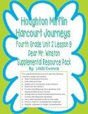Journeys Fourth Grade Unit 2 Lesson 9 - Dear Mr. Winston