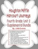 Journeys 4th Grade Unit 2 Supplemental Bundle (2012 Common