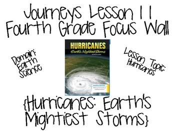 Journeys Fourth Grade Unit 3 Focus Wall