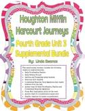 Journeys 4th Grade Unit 3 Supplemental Bundle (2012 Common