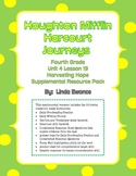 Journeys Fourth Grade  Unit 4 Lesson 19 - Harvesting Hope Supplemental Pack
