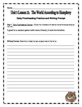 Journeys 4th Grade Unit 5 Supplemental Bundle (2012 Common Core Aligned Version)