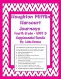 Journeys 4th Grade Unit 5 Supplemental Bundle (2012 Common