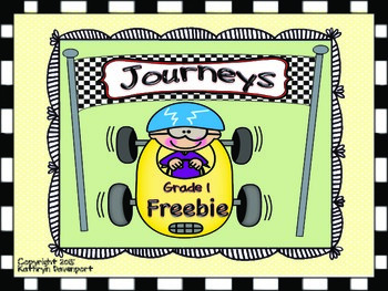 Journeys Freebie Grade 1