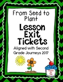 Journeys- From Seed to Plant Exit Tickets
