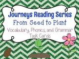Journeys From Seed to Plant Vocabulary, Phonics, and Gramm