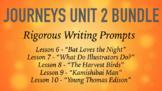 Journeys GR 3 Unit 2 Bundle - Rigorous Writing Prompts