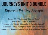 Journeys GR 3 Unit 3 Bundle - Rigorous Writing Prompts