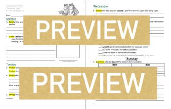 Journeys GR 3 Unit 4.19 - Two Bear Cubs - Rigorous Vocabulary Practice