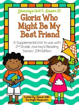 Journeys- Gloria Who Might Be My Best Friend Supp. Unit {U