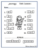 Journeys Gr. 2 Unit 1 Lesson 1 Modified Spelling Test