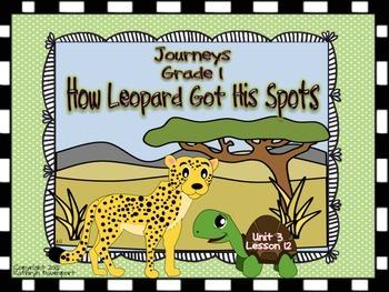 Journeys Grade 1 How Leopard Got His Spots Unit 3 Lesson 12