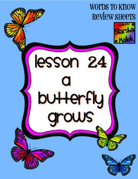 Journeys First Grade Lesson 24