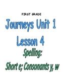 Journeys Grade 1 Lesson 4- Read Write Make