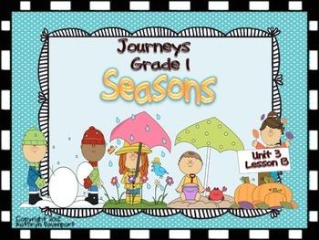 Journeys Grade 1 Seasons Unit 3 Lesson 13