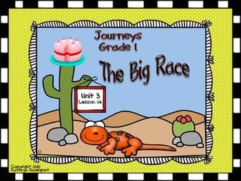 Journeys Grade 1 The Big Race Unit 3 Lesson 14