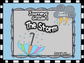Journeys Grade 1 The Storm Unit 1 Lesson 2
