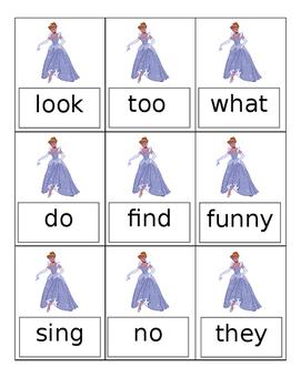 Journeys Grade 1 Unit 1 Sight Word Cinderella Game