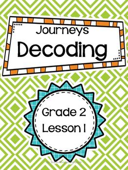 Journeys Grade 2 Decoding Phonics Lesson 1