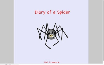 Journeys Grade 2 Diary of a Spider Unit 1.4