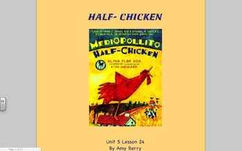 Journeys Grade 2 Half-Chicken Unit 5. 24