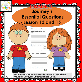 Journey's Grade 2 Lesson 13 Essential Question