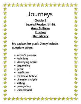 Journeys Grade 2 Leveled Readers 14-16