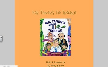 Journeys Grade 2 Mr. Tanen's Tie Trouble Unit 4.16