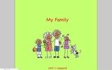 Journeys Grade 2 My Family Unit 1.2
