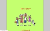 Journeys Grade 2 My Family Unit 1.2